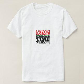 Arrêtez l'esclavage avec le T-shirt des hommes de