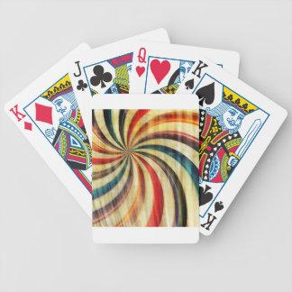 Arrière - plan abstrait de Digitals dans rétro Jeux De Cartes