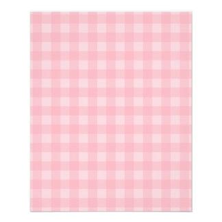 Arrière - plan Checkered de motif de rétro guingan Prospectus 11,4 Cm X 14,2 Cm