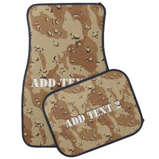 Arrière - plan de camouflage de désert (1) tapis de sol