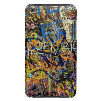 Arrière - plan de graffiti coque iPod touch