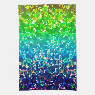 Arrière - plan de graphique de scintillement de serviette éponge