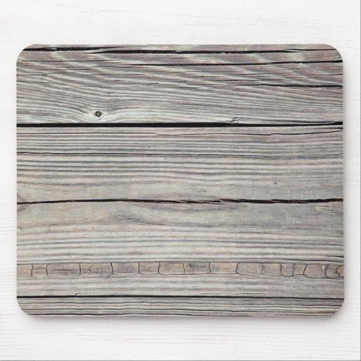 Arrière - plan en bois patiné vintage - vieux pann tapis de souris