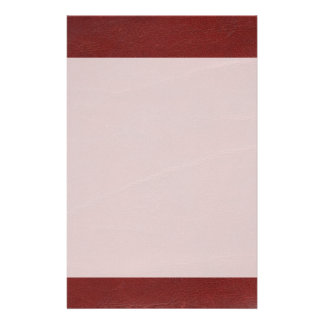Arrière - plan en cuir rouge foncé de Faux Papier À Lettre Personnalisé