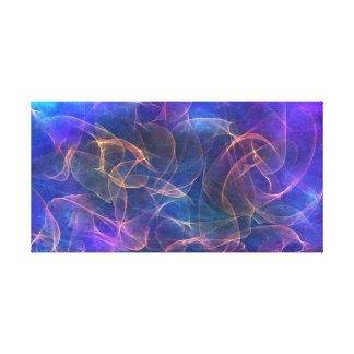 arrière - plan mystique multicolore toiles