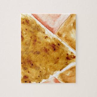 Arrière - plan polygonal peint puzzle