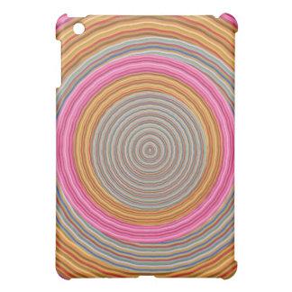 Art101 couleur chaude grande - cercles de coque pour iPad mini