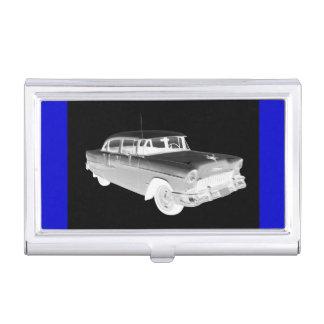 Art 1955 classique de voiture de Bel Air de Boîtier Pour Cartes De Visite