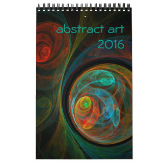 Art 2016 abstrait moderne calendriers