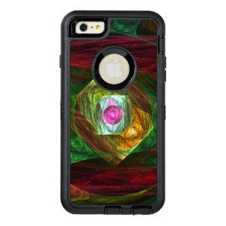 Art abstrait de connexions dynamiques coque OtterBox iPhone 6 et 6s plus