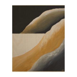 Art abstrait de désert de sud-ouest