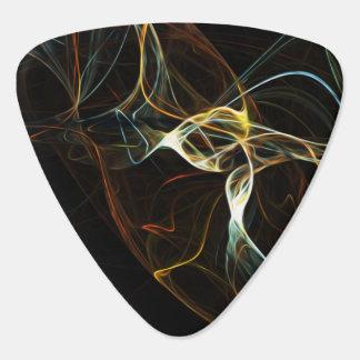 Art abstrait de fumée onglet de guitare