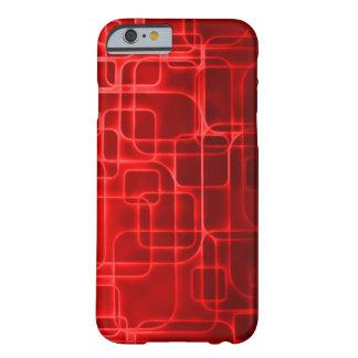 Art abstrait de puissance rouge superbe de Saiyan Coque iPhone 6 Barely There