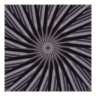 Art abstrait noir de modèle tourbillonnant blanc photographie