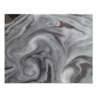 Art abstrait noir et blanc tirages photo