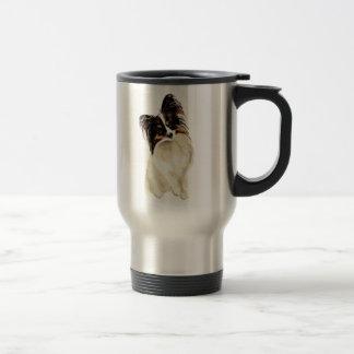 Art animal mignon d'animal familier de chien de mug de voyage