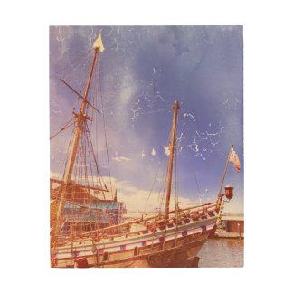 """Art """"bateau de mur de navigation """""""