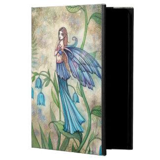 Art bleu d'imaginaire de fées de fleur de Bell Protection iPad Air