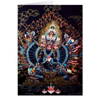Art bouddhiste tibétain (Chemckok Heruka) Carte