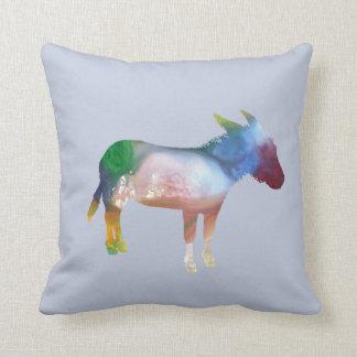 Art d'âne coussin