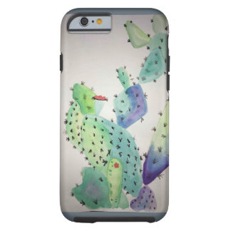 Art d'aquarelle coque tough iPhone 6