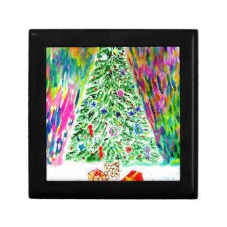 Art d'arbre de Noël Boîte À Souvenirs