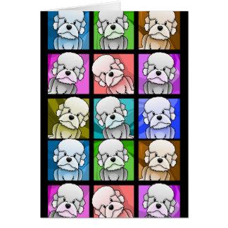 Art de bruit Dandie Dinmont Terrier Carte