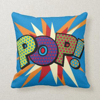 Art de bruit de bande dessinée POP ! Oreiller