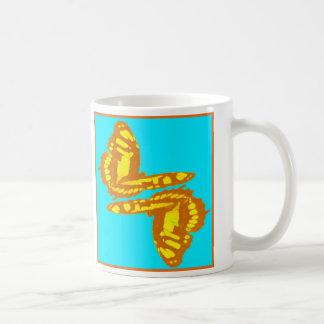 Art de bruit de papillon mug