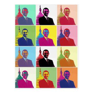 Art de bruit du Président Obama Carte Postale