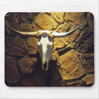 Art de bureau de tapis de souris de vache