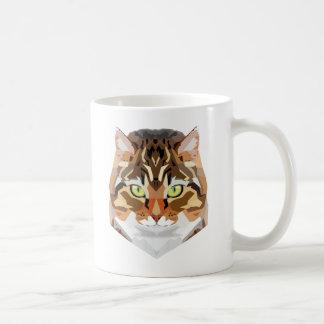 Art de chat mug blanc