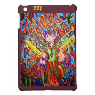 art de fée de chute coque iPad mini