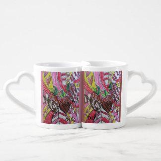 Art de fraise mug