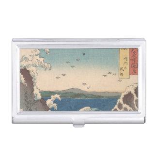 Art de Hiroshige de Japonais de tourbillon de Porte-cartes De Visite