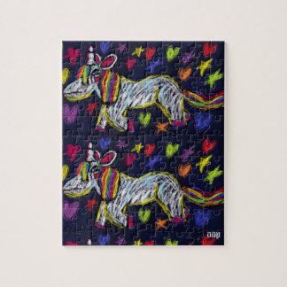 art de licorne puzzle