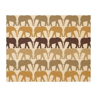 Art de marche d'original d'éléphants