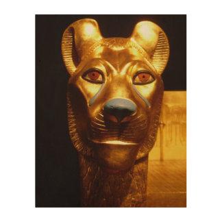 Art de mur de statue de chat égyptien