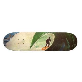 Art de plate-forme de planche à roulettes de skateboard  20 cm