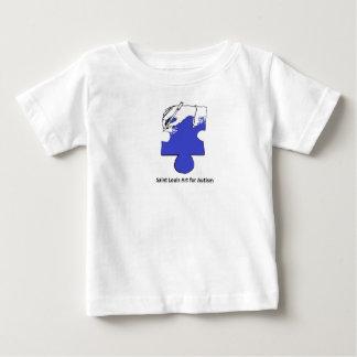 Art de Saint Louis pour le talent d'autisme T-shirt Pour Bébé