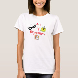 Art de T-shirt d'expression