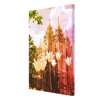 Art de temple mormon de Salt Lake City Toile