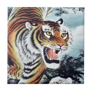 Art de tigre carreaux