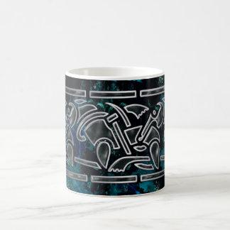 Art de tribal de Celt de fractale Mug Magique