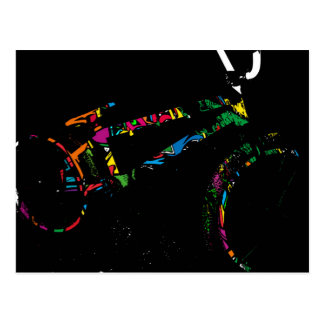 Art de vélo de BMX Carte Postale