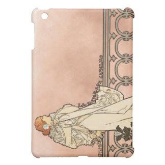 Art déco d'Alphonse Mucha Coques Pour iPad Mini