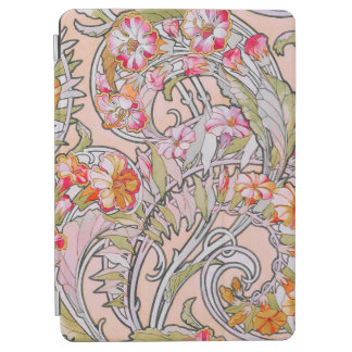 Art déco floral protection iPad air