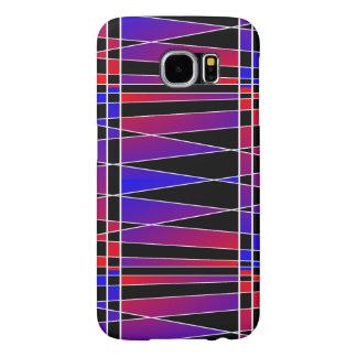 Art deco 'Fractured Samsung Galaxy S6 Hoesje