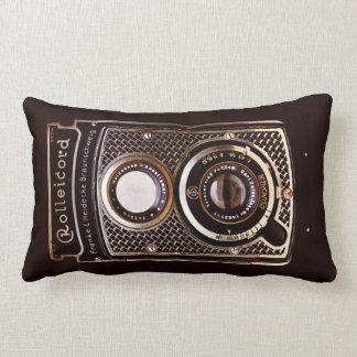 Art déco vintage de rolleicord d'appareil-photo oreillers