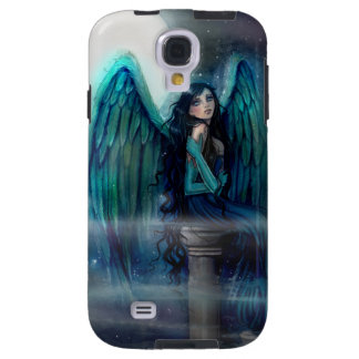 Art d'imaginaire d'ange de guide d'esprit coque galaxy s4